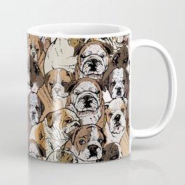 Social English Bulldog Coffee Mug