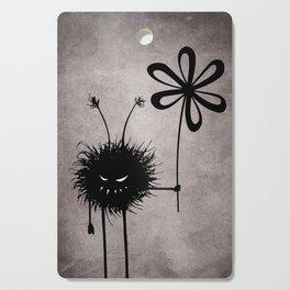 Evil Flower Bug Cutting Board