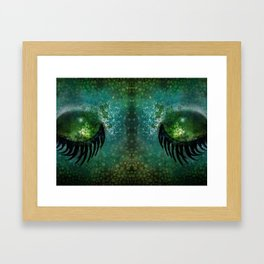 Dragon Eyes at Dusk Framed Art Print