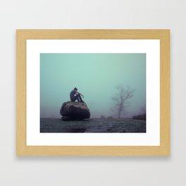BRAIN FOG Framed Art Print