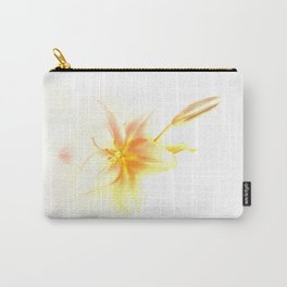 Pink and Yellow Tiger Lily - Dreamy Floral Photography - Flower Art Prints, T-shirts, Phone Cases... Carry-All Pouch