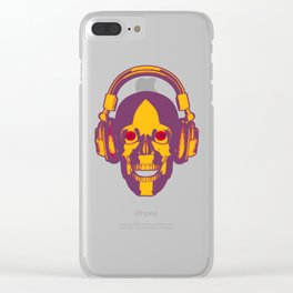 Disco Insanity Clear iPhone Case