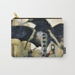 12,000pixel-500dpi - The Plague - Arnold Bocklin Carry-All Pouch