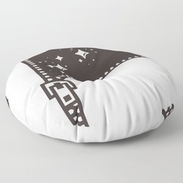 inner universe Floor Pillow