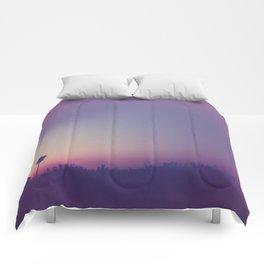 a summer night Comforters