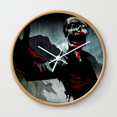 A Cold Welcome Wall Clock