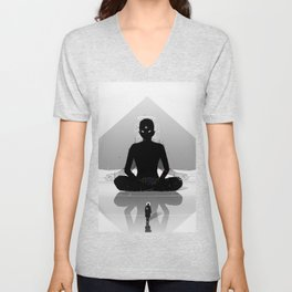 Inner Shadow Unisex V-Neck