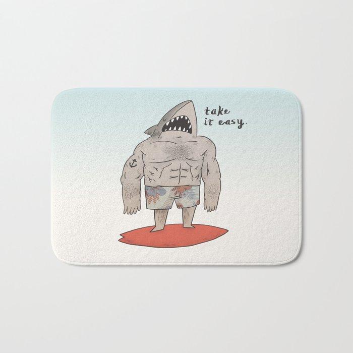 Surf Shark Bath Mat