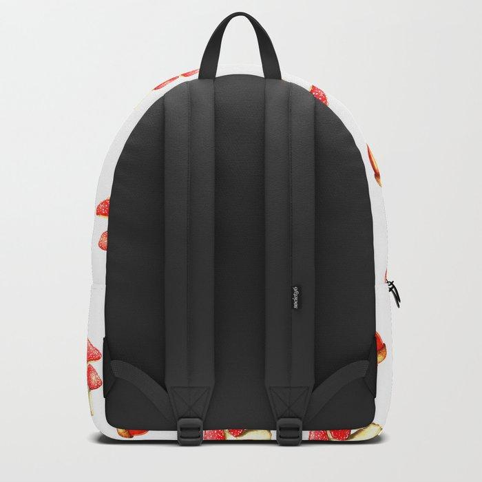 Mushrooms and Acorns Backpack