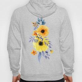 FLOWERS WATERCOLOR 10 Hoody