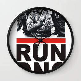 RUN DNC Wall Clock