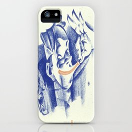Vintage poster - Loose lips iPhone Case