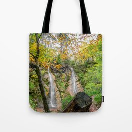 Autumn Waterfall Tote Bag