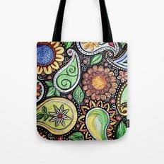 Paisley Fun Tote Bag