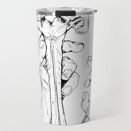 Holding Skeletons Travel Mug
