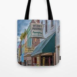 Quaint Streetscape Tote Bag