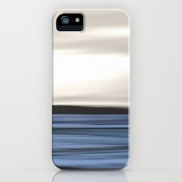 Sea Abstraction iPhone Case