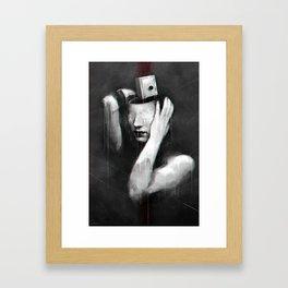 Coat of lies Framed Art Print