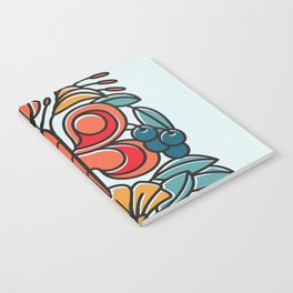 Butterfly tile Notebook