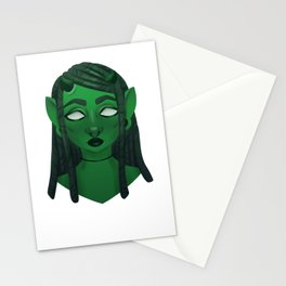 The Green Demon Stationery Cards