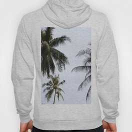 Tropical palm trees Hoody