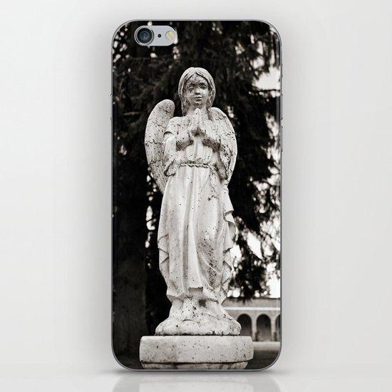 Praying angel iPhone & iPod Skin