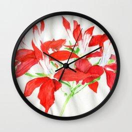 Scarlet Migration Wall Clock