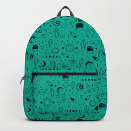 Crystal Pattern Backpack