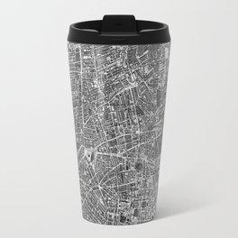 Vintage Map of Liverpool England (1890) BW Travel Mug