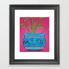 Houseplant Framed Art Print