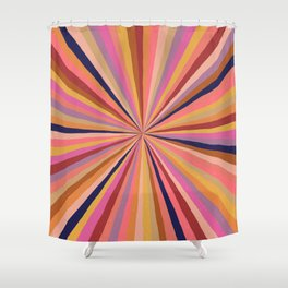 Radiate Positivity Shower Curtain