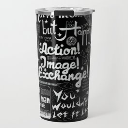 Vic Reeves Big Night Out catchphrases Travel Mug