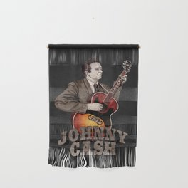 Johnny Cash Wall Hanging