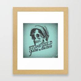 Stone Cold Jane Austin Framed Art Print