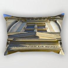 Academie De Paris Rectangular Pillow