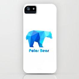 Blue polar bears iPhone Case