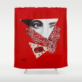 Imitation of Love Shower Curtain