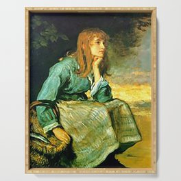 Call Her In - J. Everett Millais Serving Tray