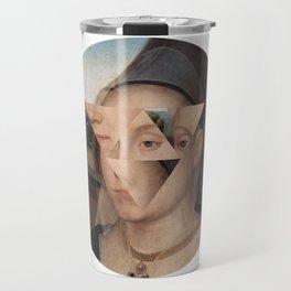 Puzzle face Travel Mug