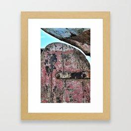 A life at sea#3 Framed Art Print