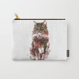 Portrait of a vintage cat Carry-All Pouch