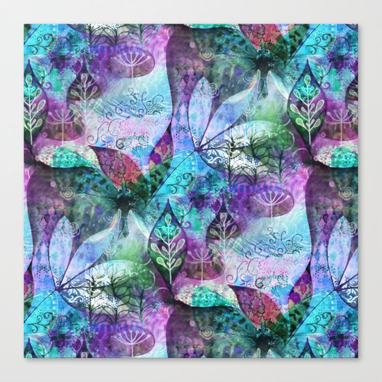 Nocturnal Whimsy Canvas Print