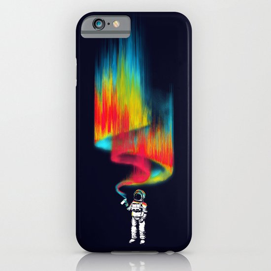 Space vandal iPhone & iPod Case