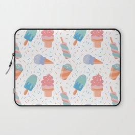 pastel ice cream pattern Laptop Sleeve