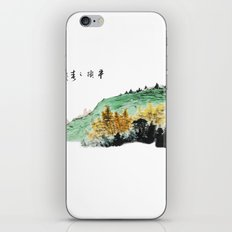 Spring of Pin-Din iPhone & iPod Skin