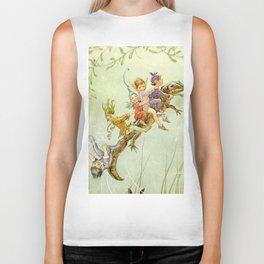 """The Pond Fairies"" by Margaret Tarrant Biker Tank"