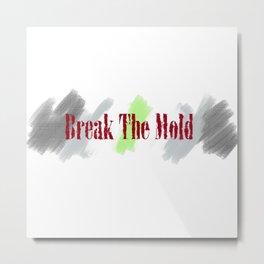 Break The Mold - Agender Pride Metal Print
