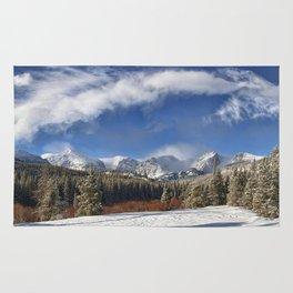 Rocky Mountain Park  by Lena Owens Rug