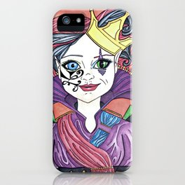 Twisted Queen iPhone Case