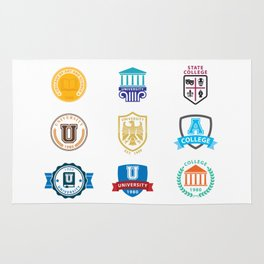 Colleges And Universities Rug